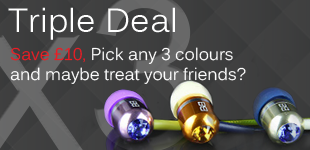 Bassbuds Tripple Deal