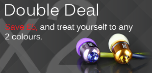 Bassbuds Double Deal